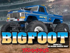 TRAXXAS Bigfoot No 1 RTR TRX36034-1 Ford