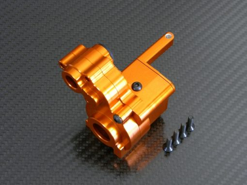 Alu Dig transmission case für Axial Wraith orange