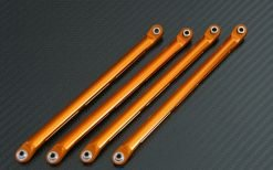 Suspension Links unten für Axial Wraith Rock Racer 1:10 orange