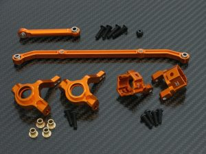 3-teiliges Tuningset für Axial SCX10 Honcho orange