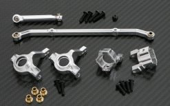 3-teiliges Tuningset für Axial SCX10 Honcho silber